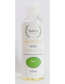 Huile de Ricin Bio 100 ml