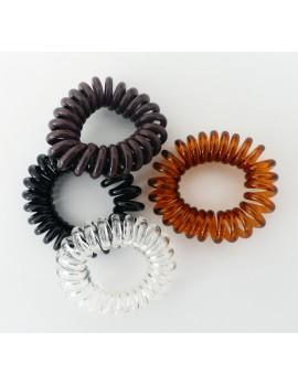4 Elastiques à spirales